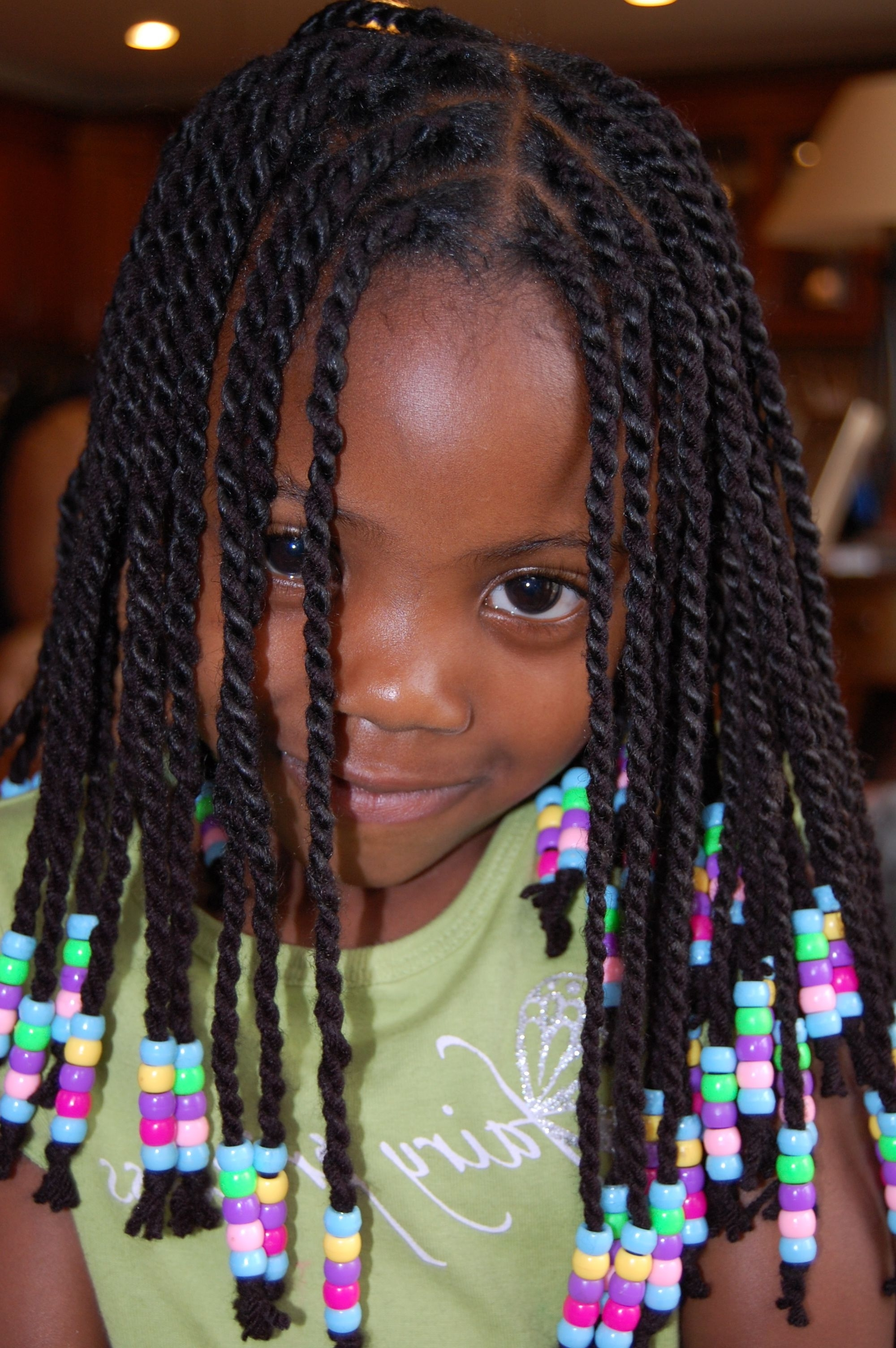 Well Known Braided Yarn Hairstyles Intended For Yarn Twists (protective Hairstyle) (View 6 of 15)
