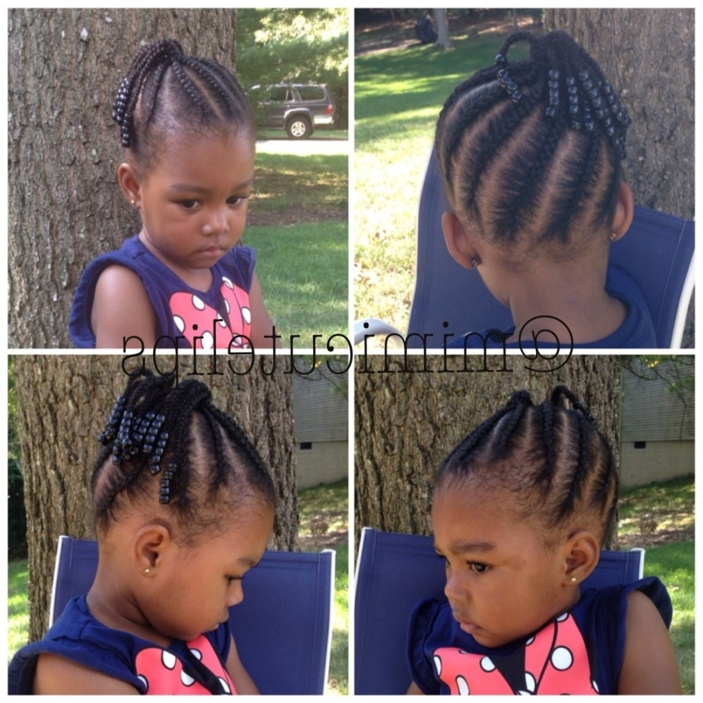 Well Known Cornrows Hairstyles For Toddlers Throughout Natural Hairstyles For Kids – Mimicutelips (View 14 of 15)
