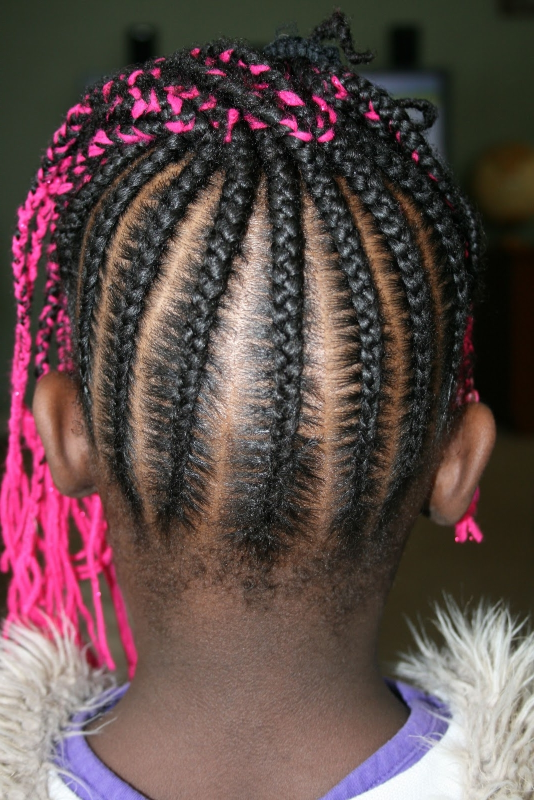 Well Known Cornrows Hairstyles Going Up For Keep Me Curly!: Valentine Hair! (View 15 of 15)