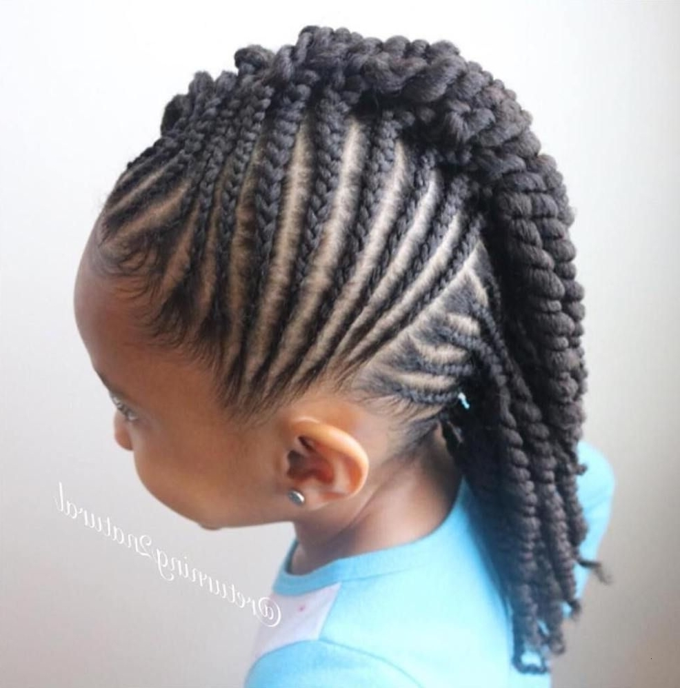 Well Known Cornrows Mohawk Hairstyles Throughout Braided Mohawk Hairstyles Elegant Braids For Kids – 40 Splendid (View 13 of 15)