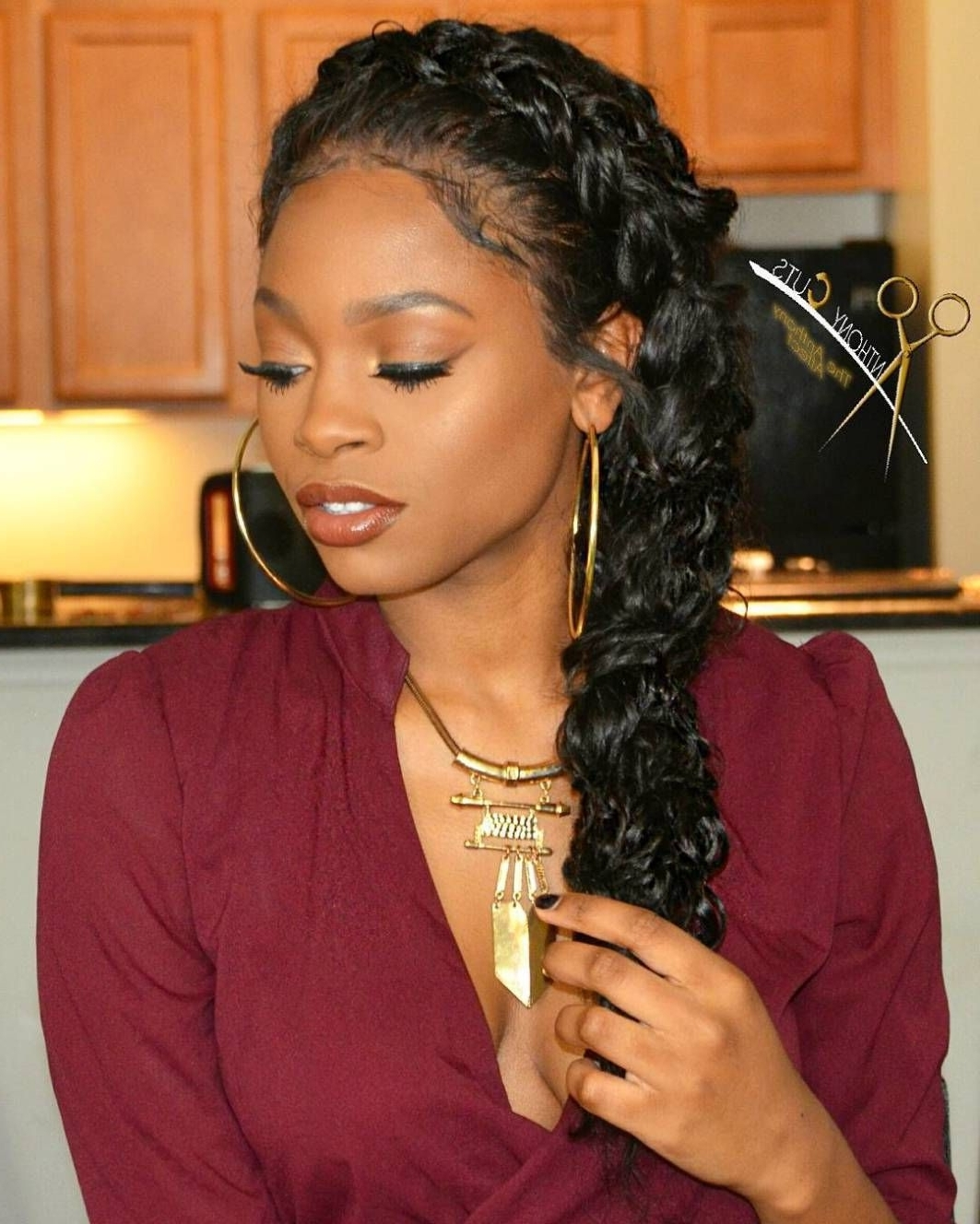 Well Known Dutch Braid Crown For Black Hair For 70 Best Black Braided Hairstyles That Turn Heads (View 14 of 15)