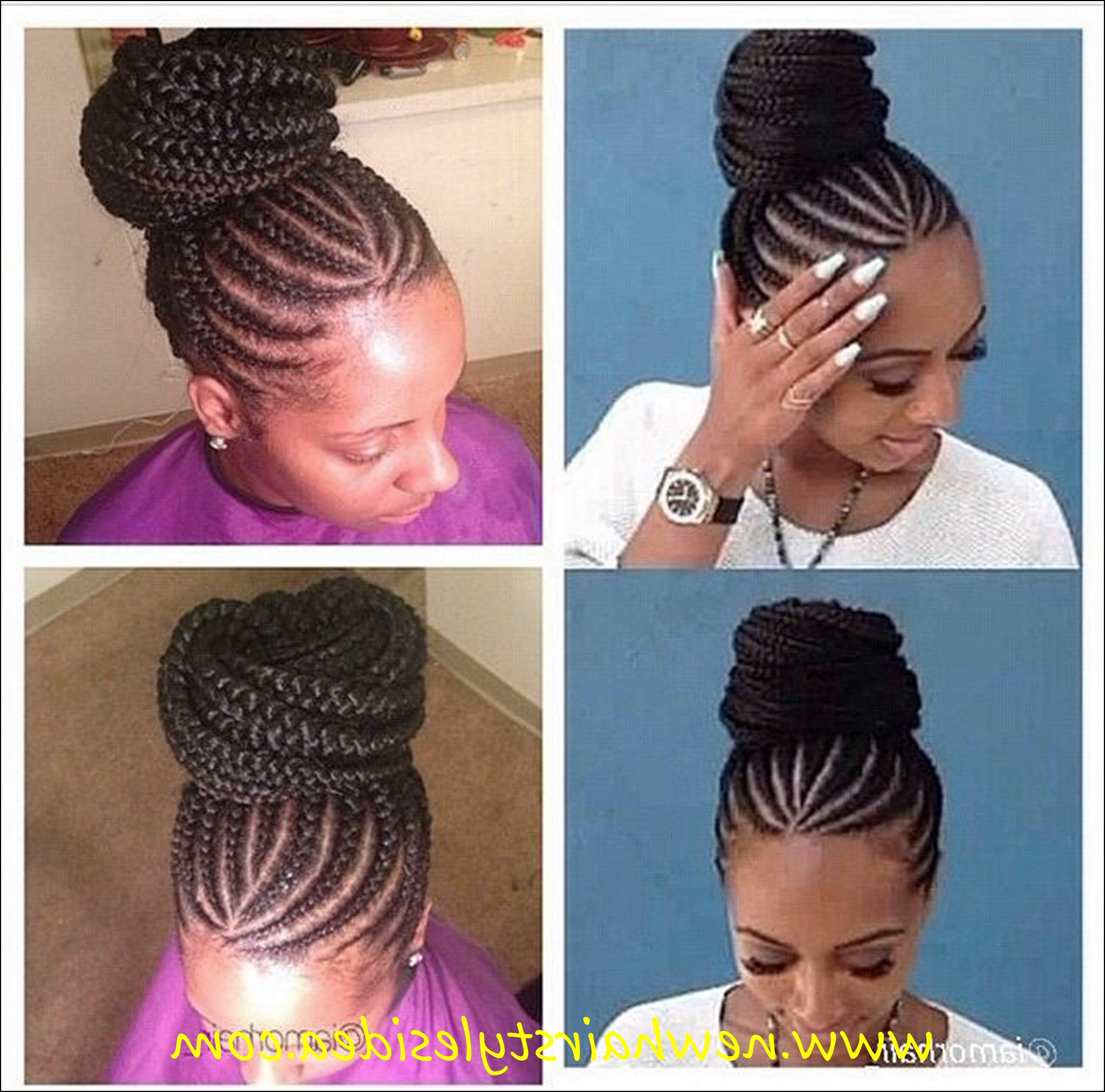 Well Known Easy Cornrows Hairstyles For Collection Of Solutions Pictures Of Cornrow Hairstyles For Women (View 14 of 15)