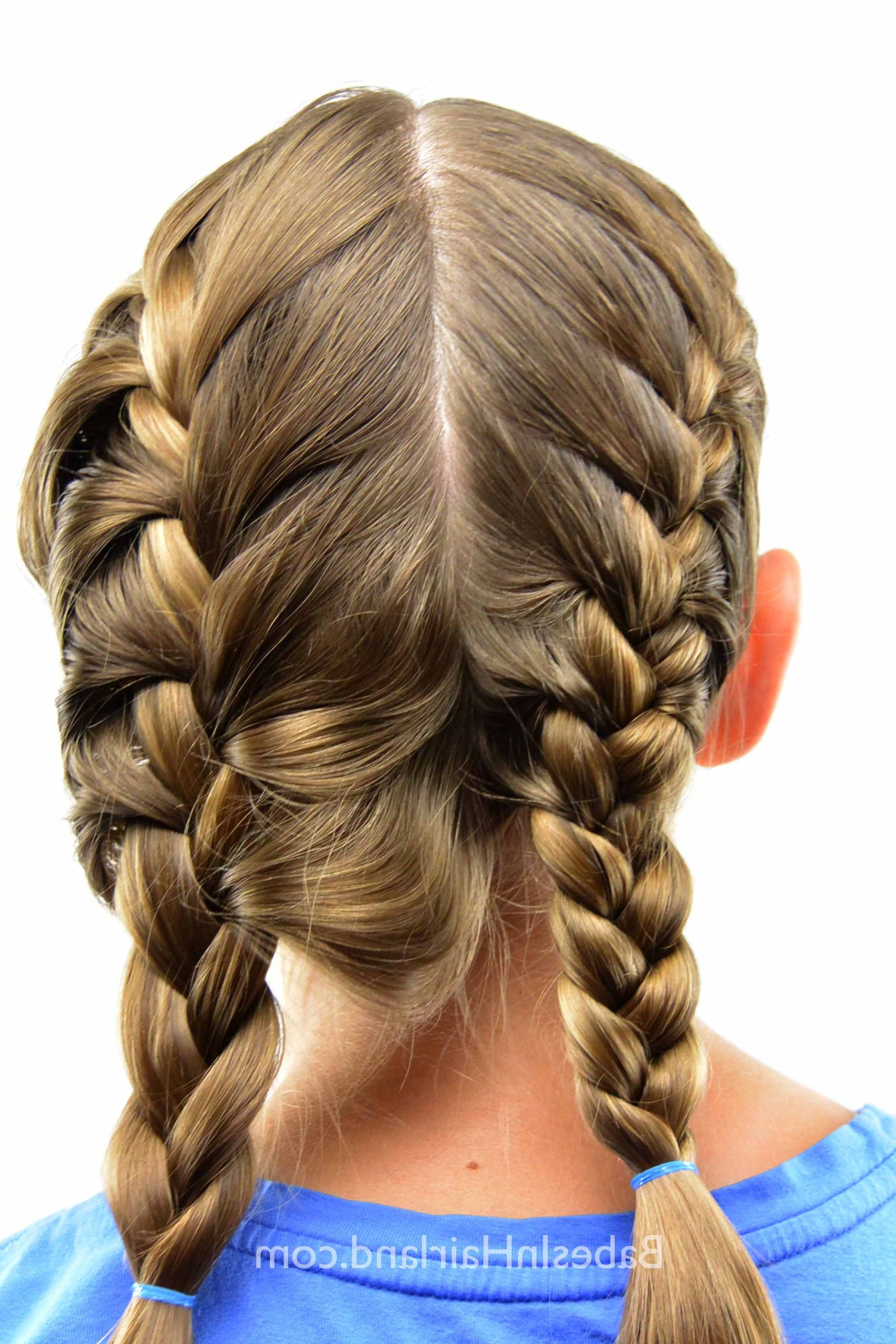 Well Known French Braid Hairstyles With Bubbles For How To Get A Tight French Braid – Babes In Hairland (View 15 of 15)