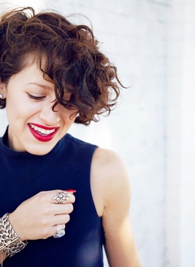 Well Known Growing Out Pixie Haircuts For Curly Hair Intended For 41 Best Short Hair Images On Pinterest (View 15 of 15)