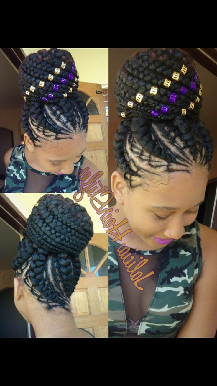Well Known Minimalistic Fulani Braids With Geometric Crown For 882 Best Hair And Beauty Images On Pinterest (View 12 of 15)