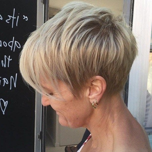 Well Known Pastel And Ash Pixie Haircuts With Fused Layers With Regard To 60 Overwhelming Ideas For Short Choppy Haircuts (View 3 of 15)