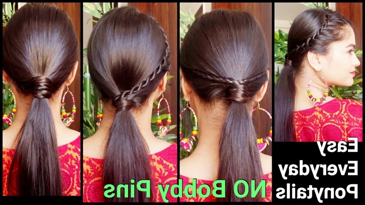 Well Known Ponytail Braids With Quirky Hair Accessory Regarding 3 Easy Everyday Ponytail Hairstyles For Medium To Long Hair For (View 5 of 15)