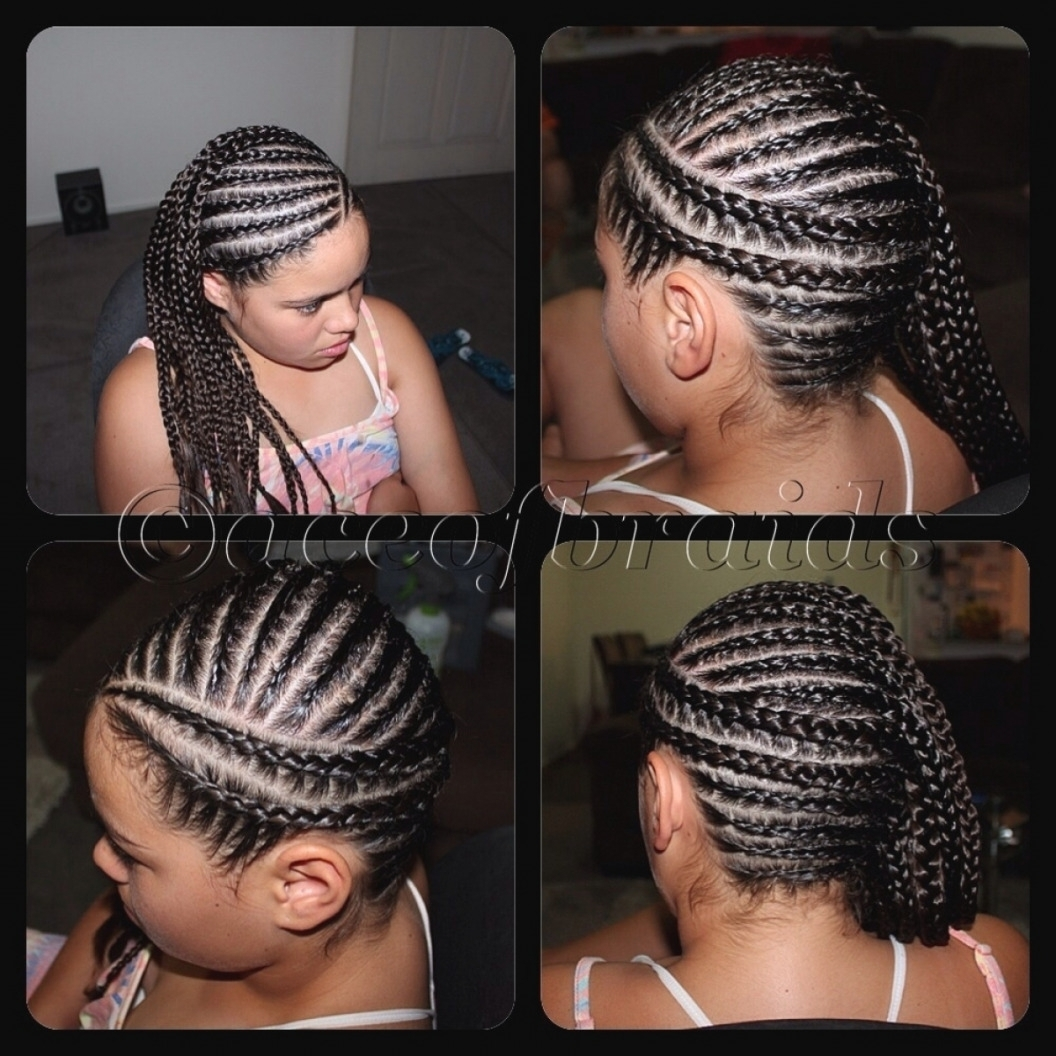 Well Known Side Cornrows Hairstyles With Side Cornrow Hairstyles Luxury Side Cornrows Hairstyles – Hair Style (View 3 of 15)
