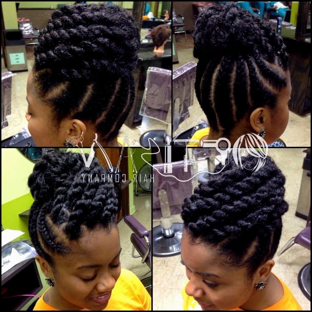 Well Liked Braided Hairstyle With Jumbo French Braid In Jumbo French Braids – French Women (View 3 of 15)
