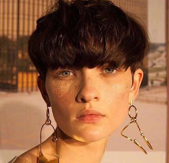 Well Liked Choppy Bowl Cut Pixie Haircuts Regarding Modern Mushroom Haircut: 15 Styles We Can't Get Enough Of! (View 6 of 15)