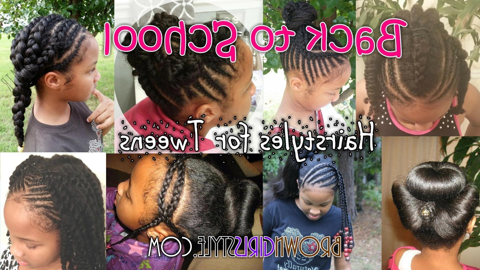 Well Liked Cornrows Hairstyles For School Inside Back To School Hairstyles For Tweens (View 11 of 15)