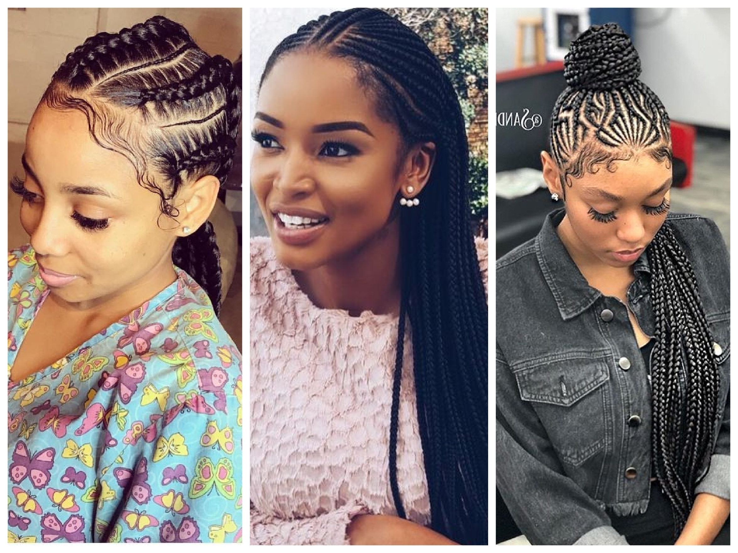 Well Liked Cute Cornrows Hairstyles With Super Cute And Creative Cornrow Hairstyles You Can Try – Wedding (View 15 of 15)