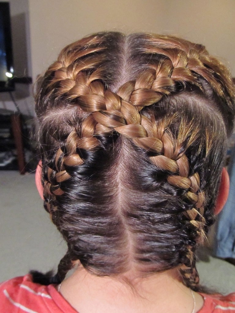 "Well Liked Diagonal French Braid Hairstyles With How To Create An ""x"" Braid: 11 Steps (With Pictures) (View 14 of 15)"