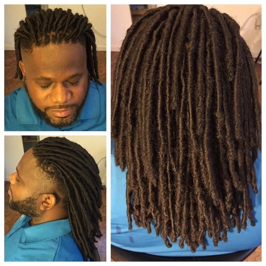 Well Liked Dreadlock Cornrows Hairstyles Within Best Dreadlocks Hairstyles For Men ▷ Tuko.co (View 15 of 15)