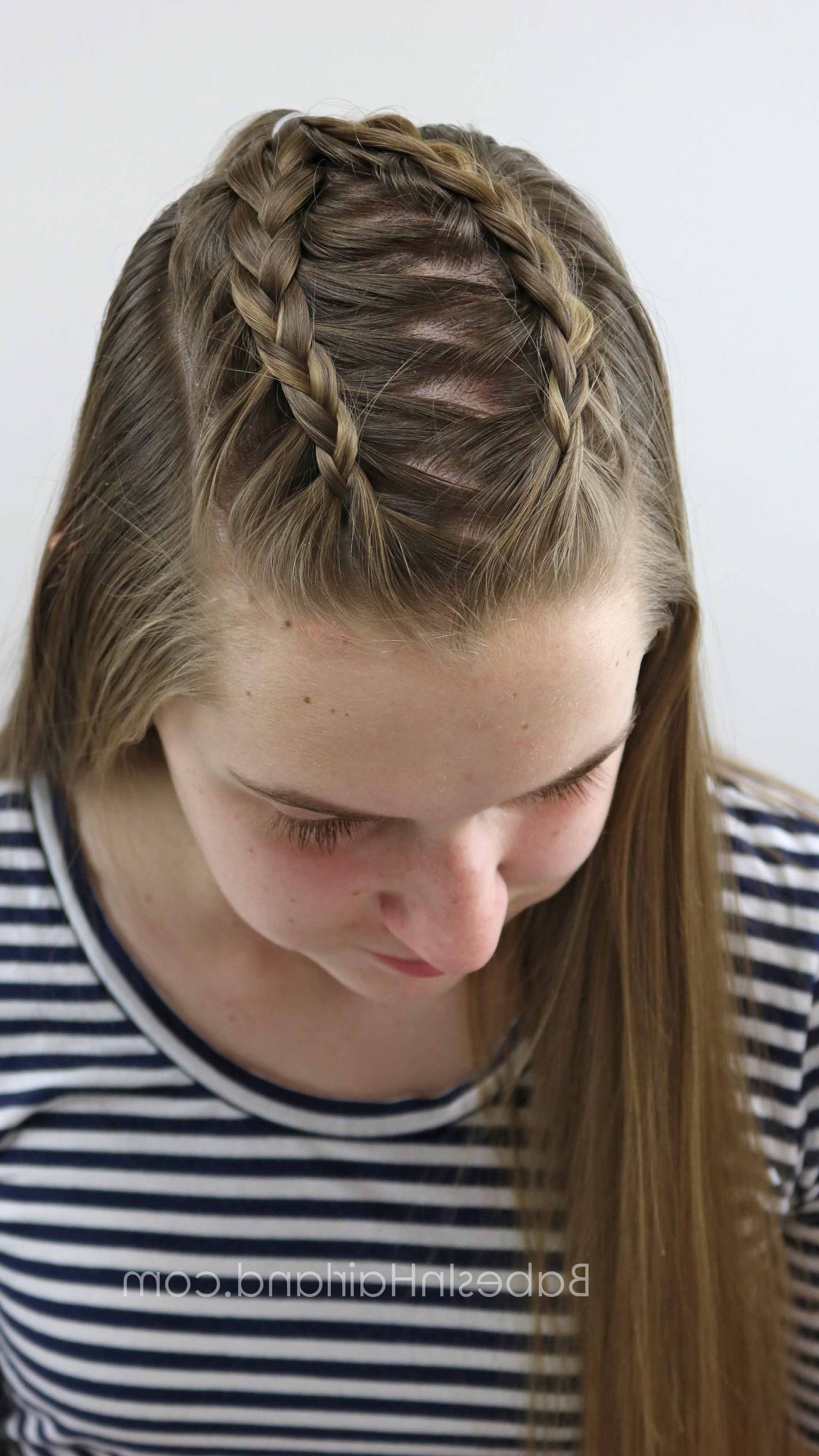 Well Liked Lattice Weave With High Braided Ponytail Within Start With 2 Basic Dutch Braids And Create 5 Different Cute And Easy (View 15 of 15)