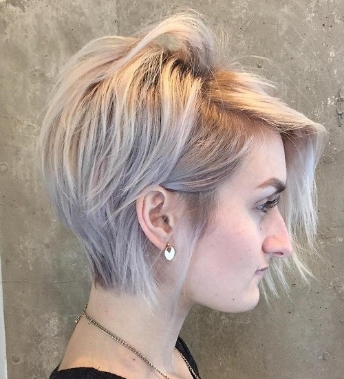 Well Liked Messy Tapered Pixie Haircuts In 30 Messy, Spiky, Edgy, Shaggy, Choppy Pixie Cuts (View 14 of 15)
