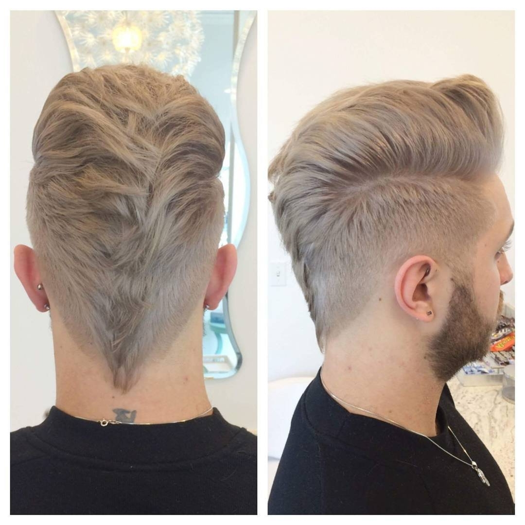 Well Liked Mohawk With Double Bump Hairstyles With Regard To 70 Amazing Sexy Faux Hawk Fade Haircuts – (New In 2018) (View 15 of 15)