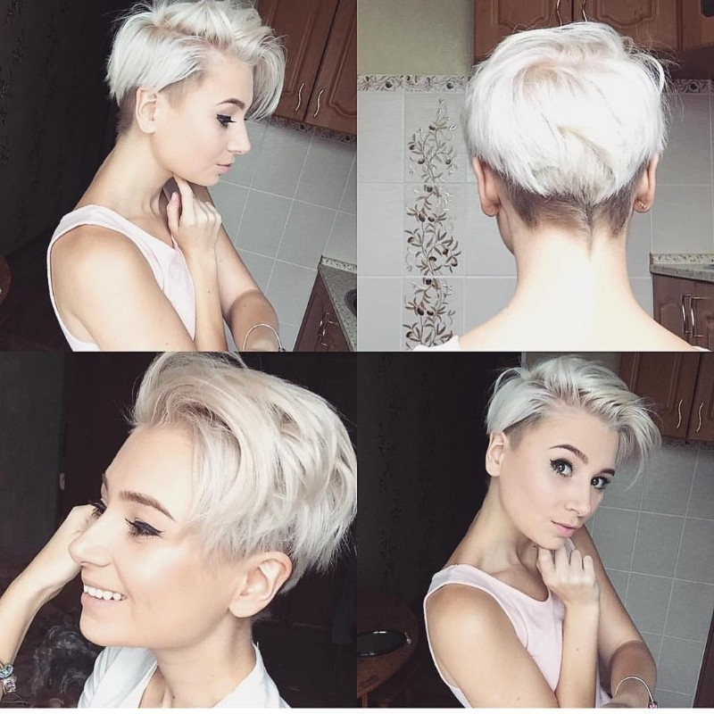 [%well Liked Sassy Pixie For Fine Hair Regarding 25 Edgy Pixie Undercut Ideas To Try Right Now! [august, 2018]|25 Edgy Pixie Undercut Ideas To Try Right Now! [august, 2018] For 2018 Sassy Pixie For Fine Hair%] (View 12 of 15)