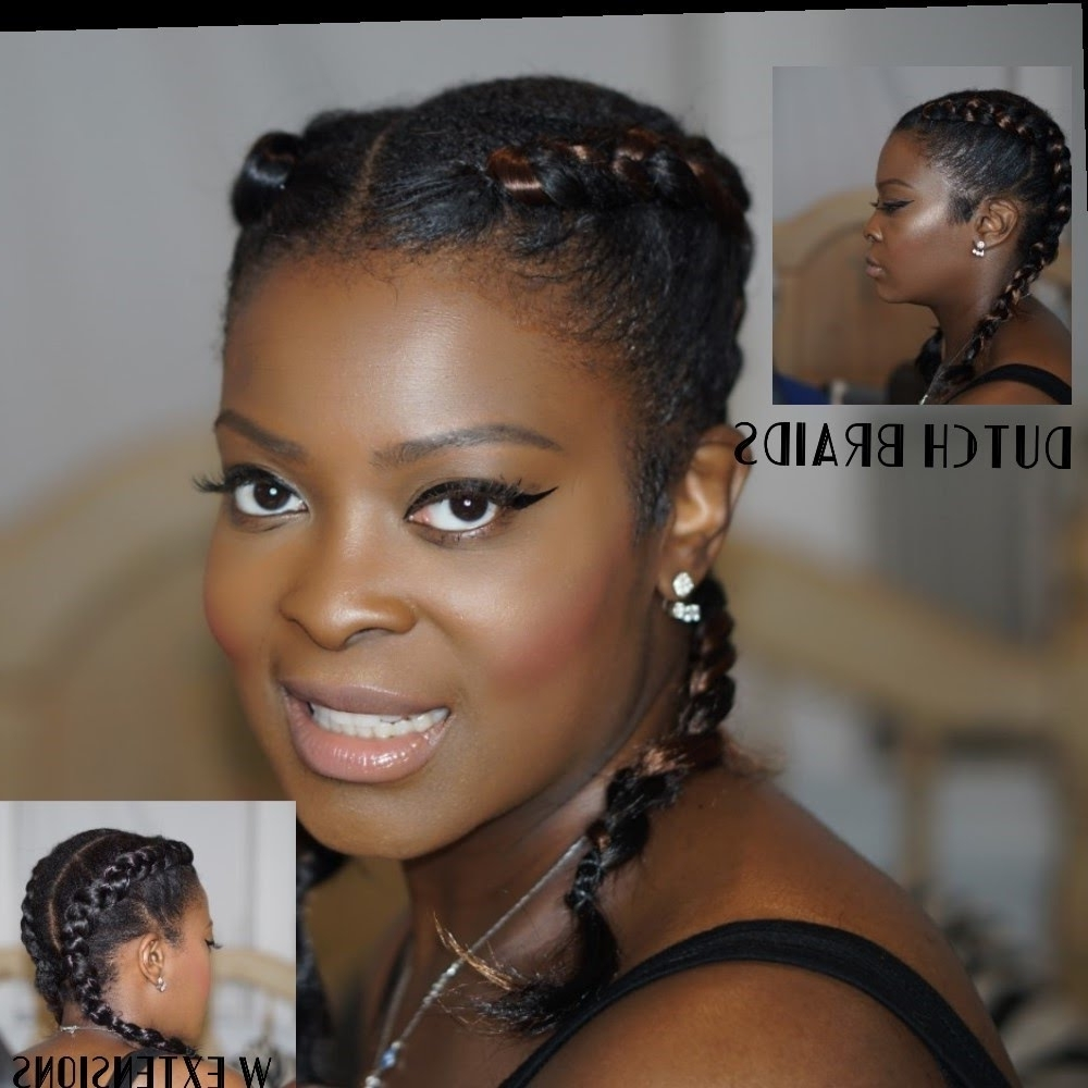 Well Liked Two Cornrow Boxer Braids For Boxer Braids Double Dutch Braids Cornrows W/ Faux Hair (View 14 of 15)