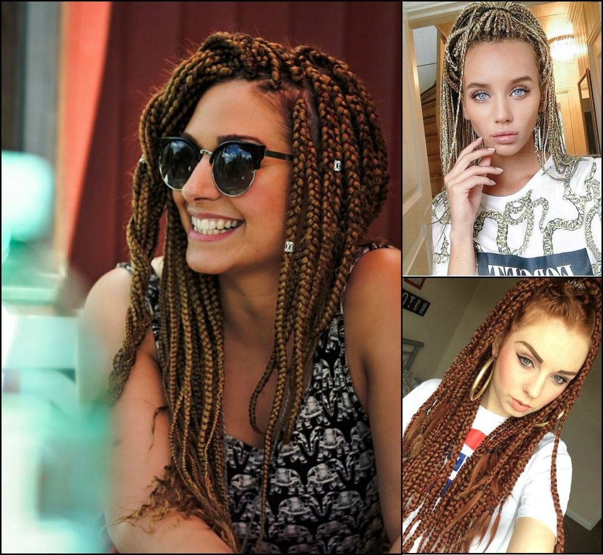 Featured Photo of Cornrows Hairstyles With White Color