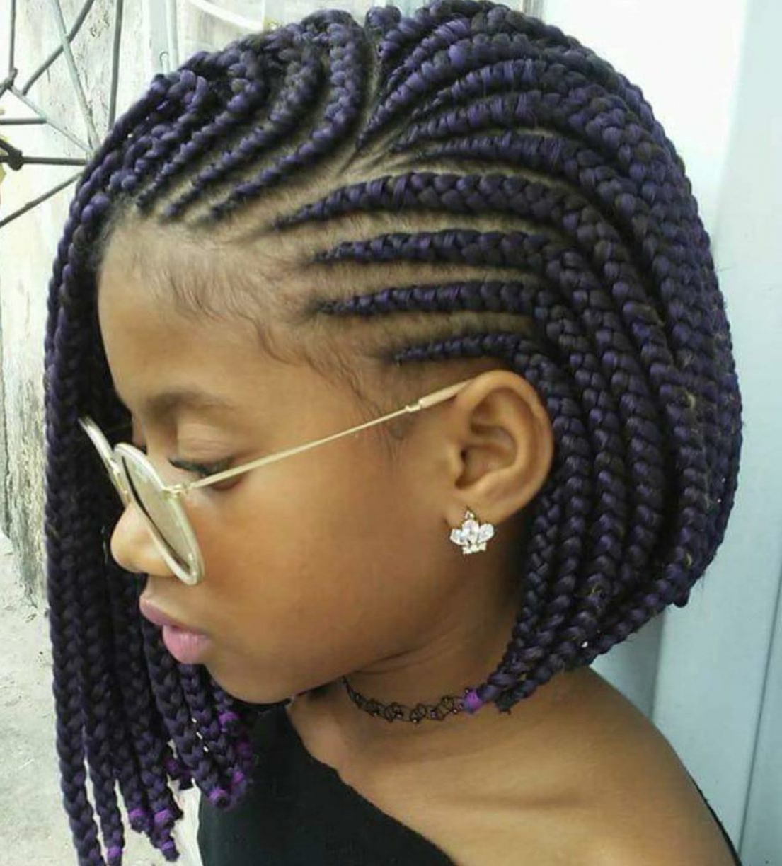Widely Used Cornrows Hairstyles For Short Hair Inside Push Back Cornrow Braidsstyle Yourdresser Would Love To Wedding (View 15 of 15)