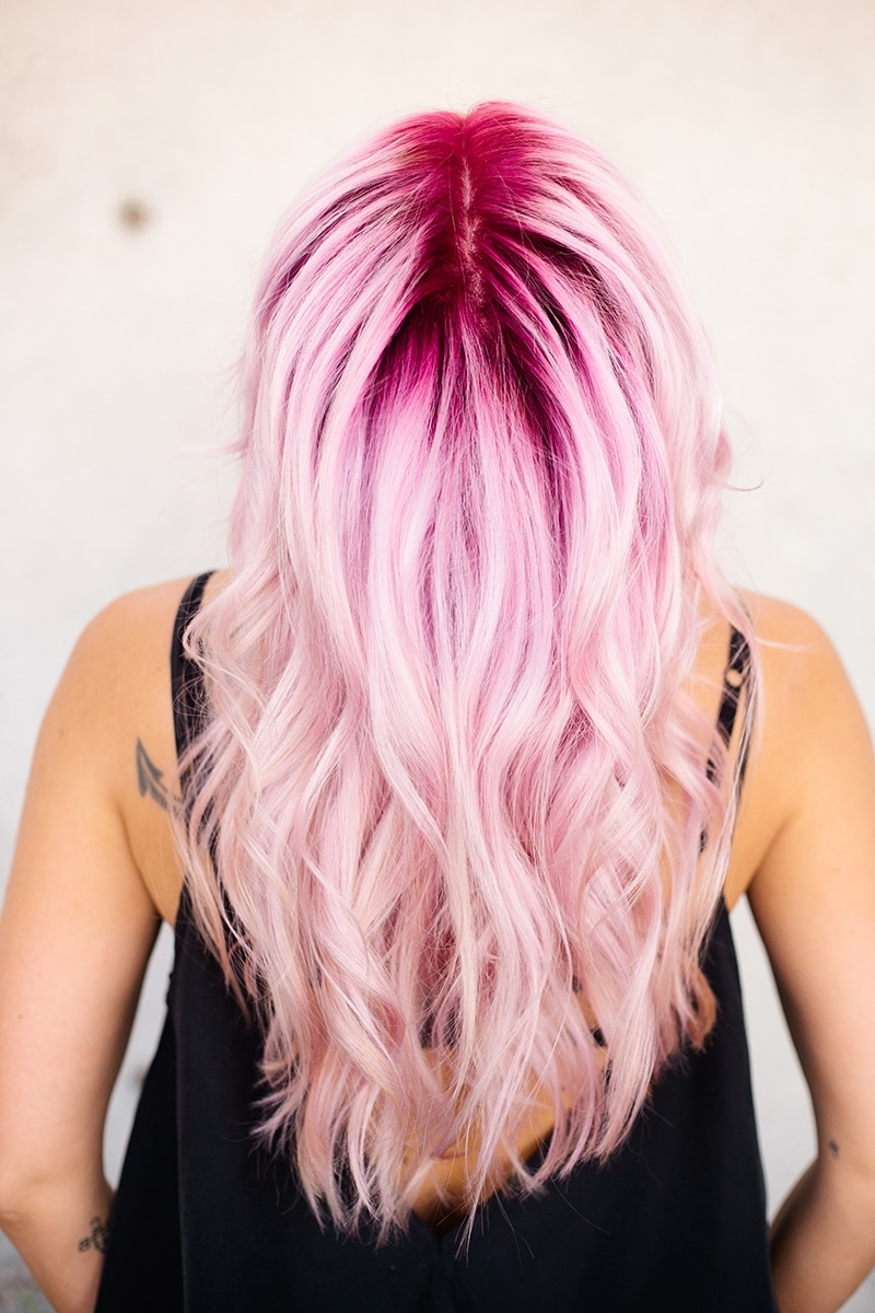 Widely Used Cotton Candy Updo Hairstyles Pertaining To Cotton Candy Up Style (View 15 of 15)