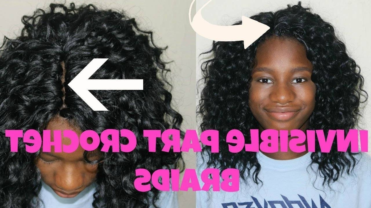 Widely Used Curly Hairstyle With Crochet Braids With Invisible Part Crochet Braids With Curly Hair Tutorial Back To (View 15 of 15)