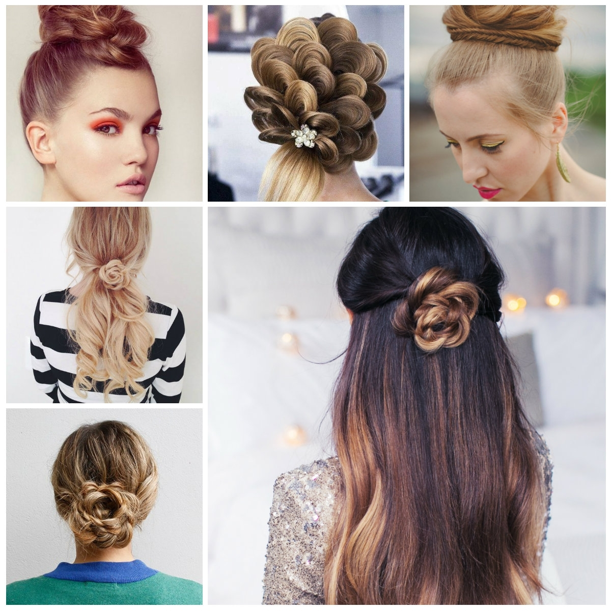 Photo Gallery Of Top Braided Hairstyles Viewing 13 Of 15 Photos
