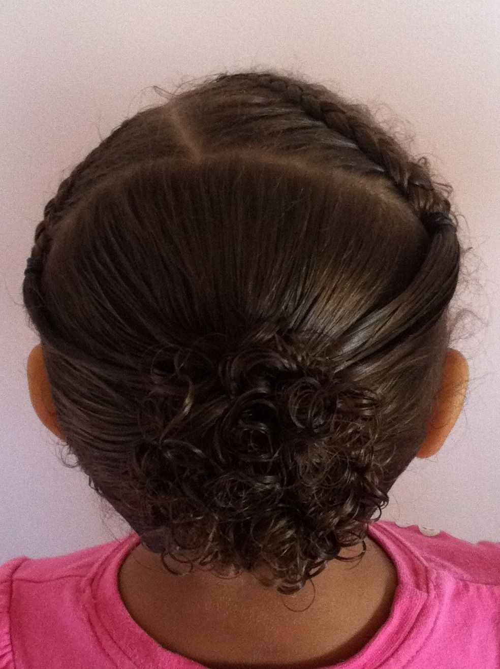 Widely Used Wrapped Ponytail With In Front Of The Ear Braids Within Selah  Part On The Side, From Top Of Head To Back Of Ears (View 15 of 15)