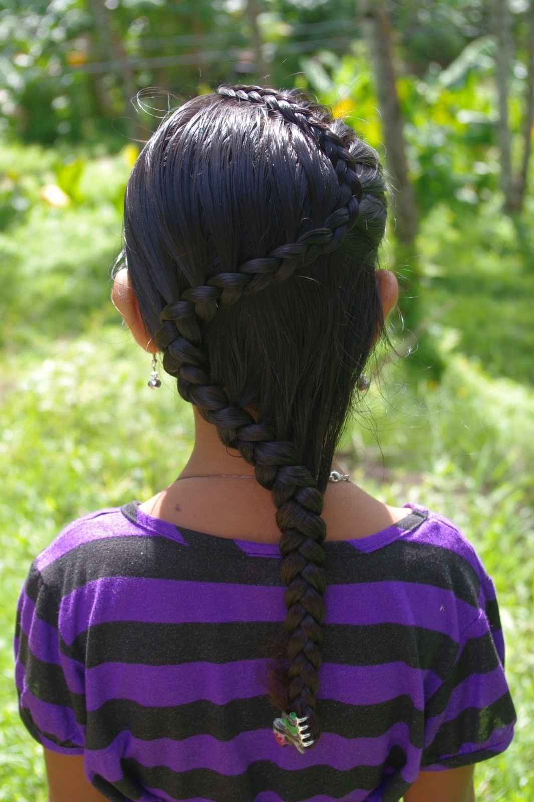 Widely Used Zig Zag Braided Hairstyles In Braids & Hairstyles For Super Long Hair: Micronesian Girl~ Zig Zag Braid (View 11 of 15)