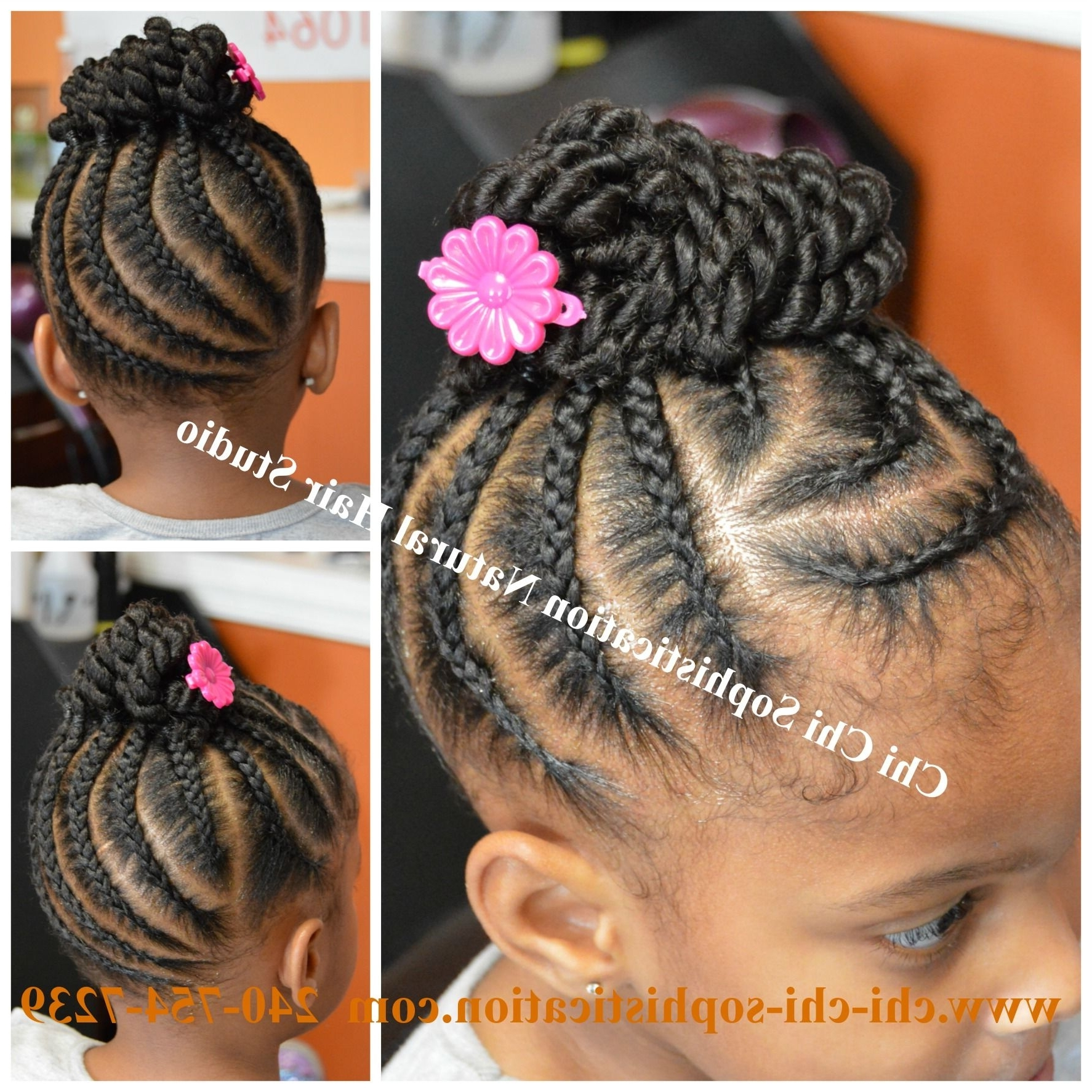 Would You Want To Spend This Much Time On These Chunky & Beautiful For Preferred Cornrows With Artistic Beaded Twisted Bun (View 15 of 15)