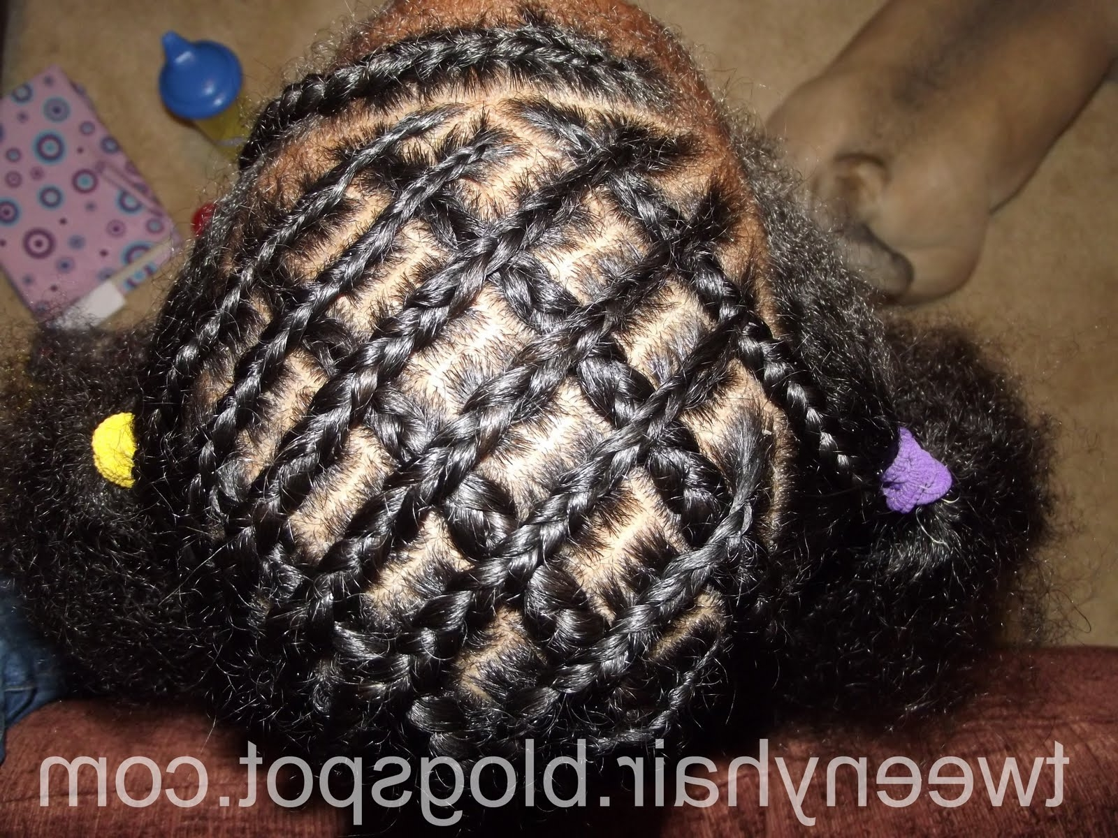 Woven And Criss Cross Cornrows Adoption Magazine Easy Of Criss Cross In Preferred Mohawk With Criss Crossed Braids (View 15 of 15)