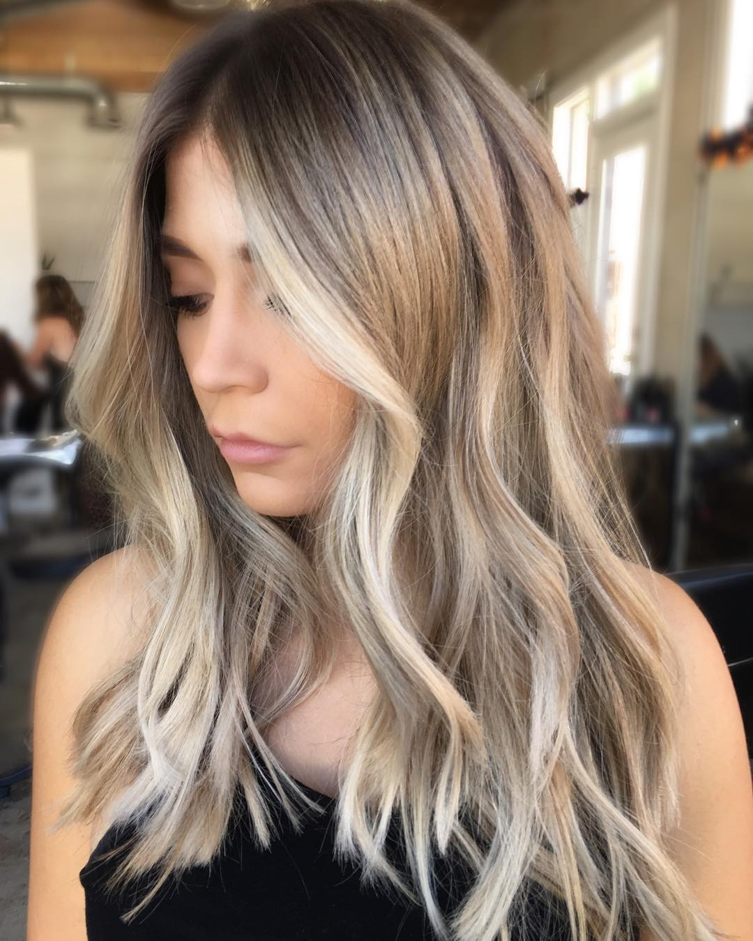 Photo Gallery Of Fade To White Blonde Hairstyles Viewing 12 Of 20