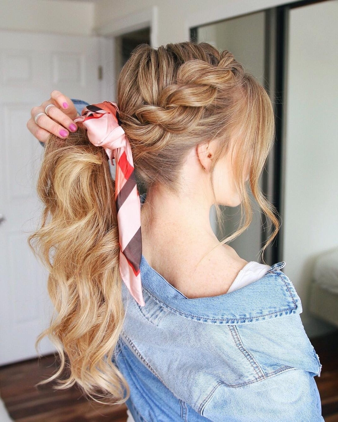 10 Creative Ponytail Hairstyles For Long Hair, Summer Hairstyle Intended For Most Current Blonde Flirty Teased Ponytail Hairstyles (View 1 of 20)