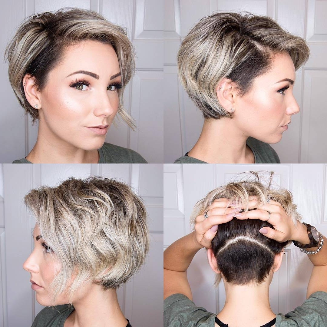10 Long Pixie Haircuts 2018 For Women Wanting A Fresh Image, Short Hair Within Current Two Tone Pixie Hairstyles (View 8 of 20)