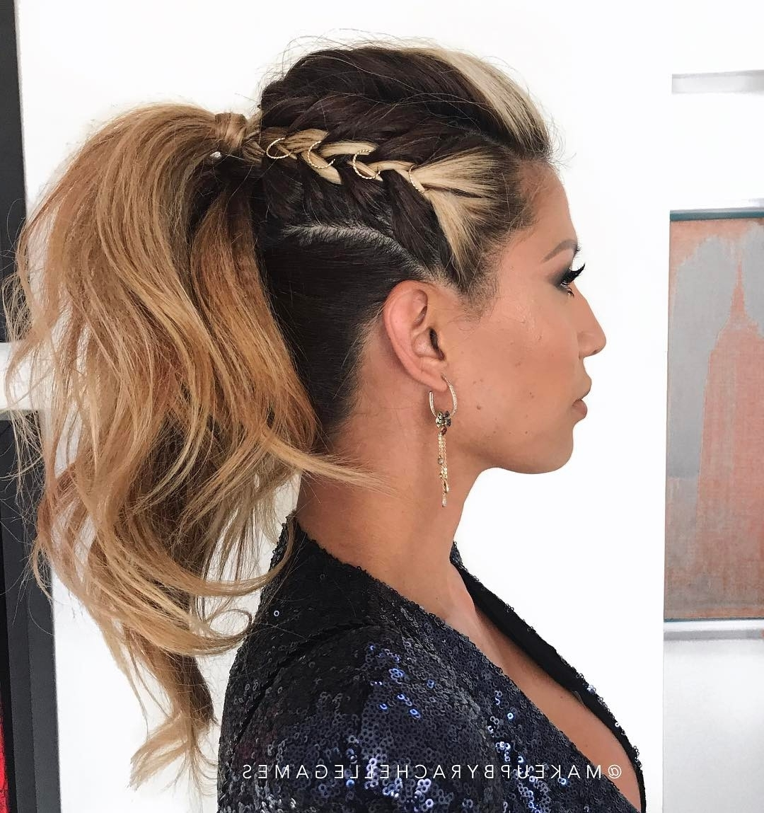 10 Ponytail Hairstyles – Pretty, Posh, Playful & Vintage Looks You With Trendy Ponytail Cascade Hairstyles (View 1 of 20)