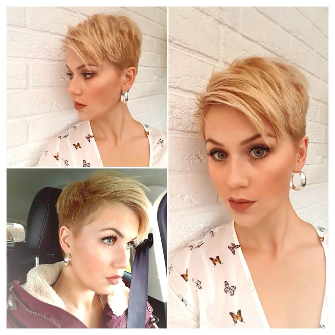 10 Short Hairstyles For Women Over 40 – Pixie Haircuts 2018 Pertaining To Most Recently Released Sassy Undercut Pixie Hairstyles With Bangs (View 16 of 20)