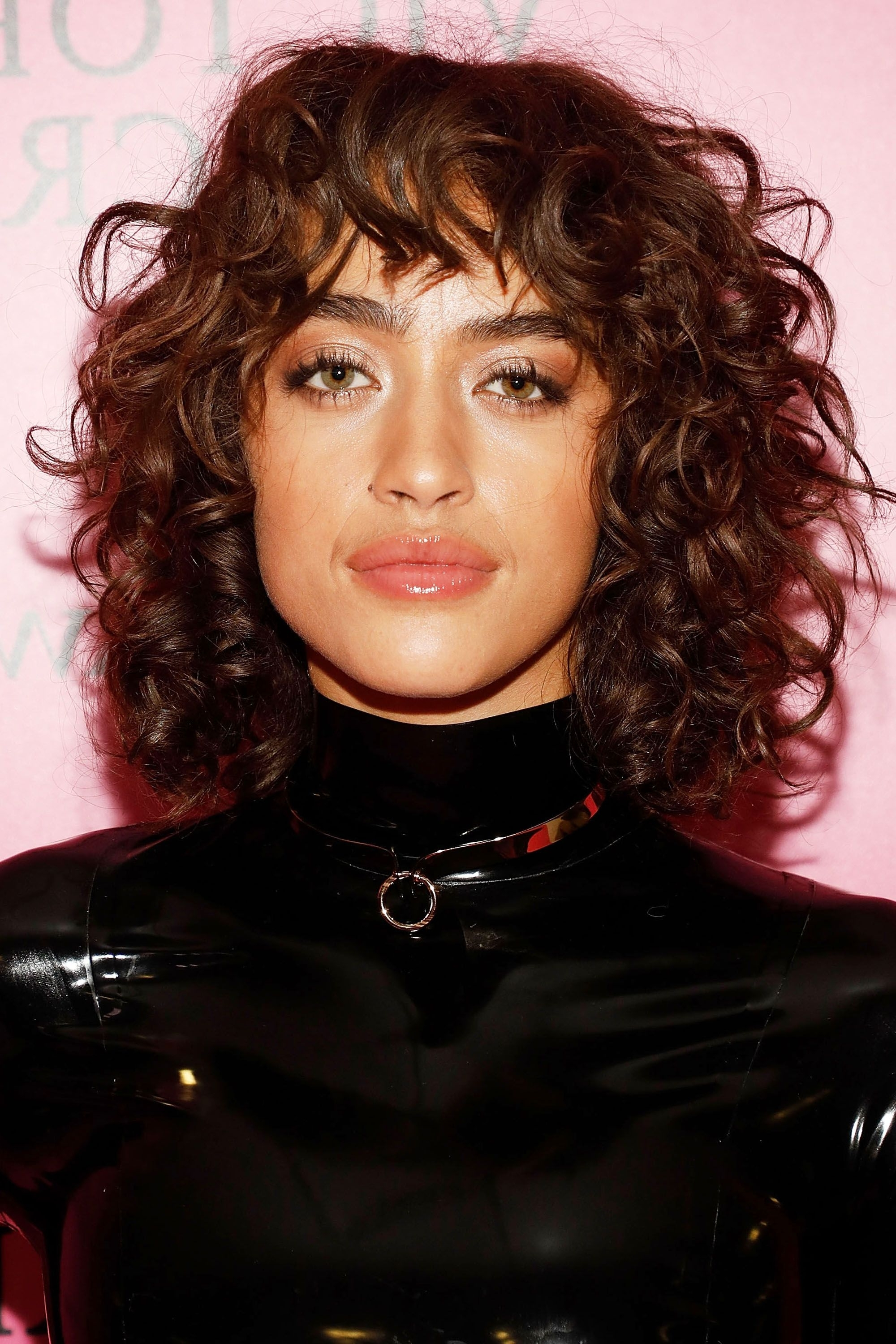 112 Hairstyles With Bangs You'll Want To Copy – Celebrity Haircuts Pertaining To Well Liked Brunette Pixie Hairstyles With Feathered Layers (View 14 of 20)
