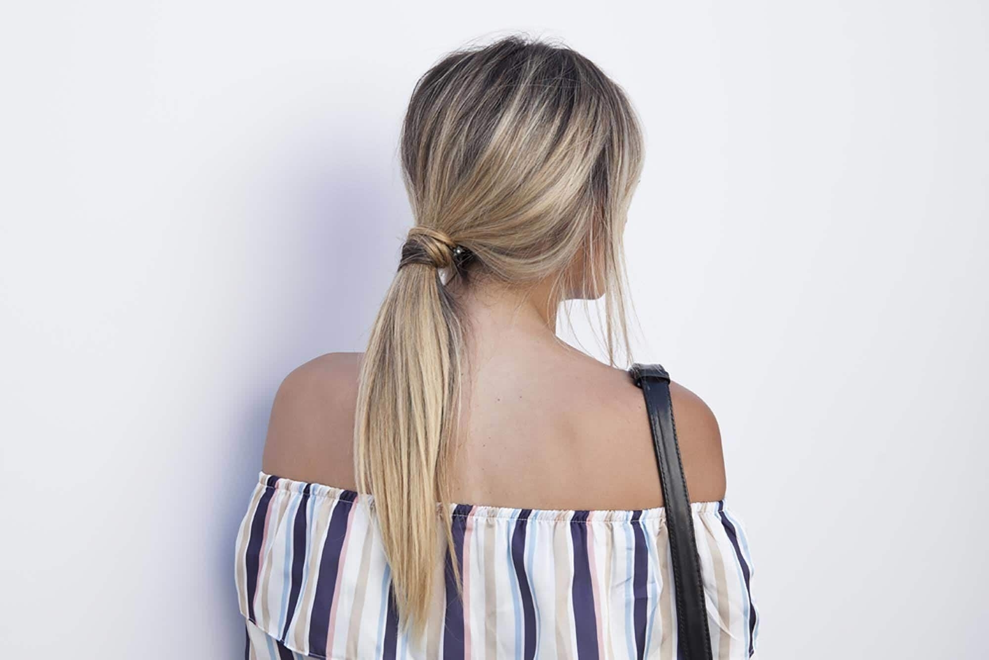 12 Easy Hairstyles For Long Hair That You Can Do In Minutes! With Most Recent Long Messy Pony With Braid (View 2 of 20)