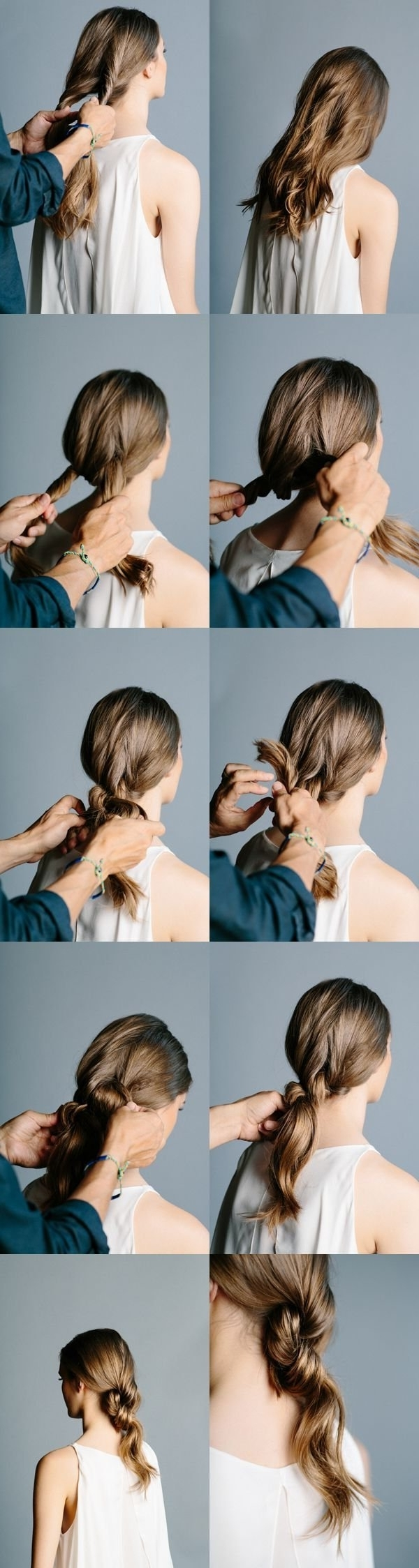 12 Simple & Easy Hairstyles For Girls Who Are Always In A Hurry Throughout Trendy Double Tied Pony Hairstyles (View 1 of 20)
