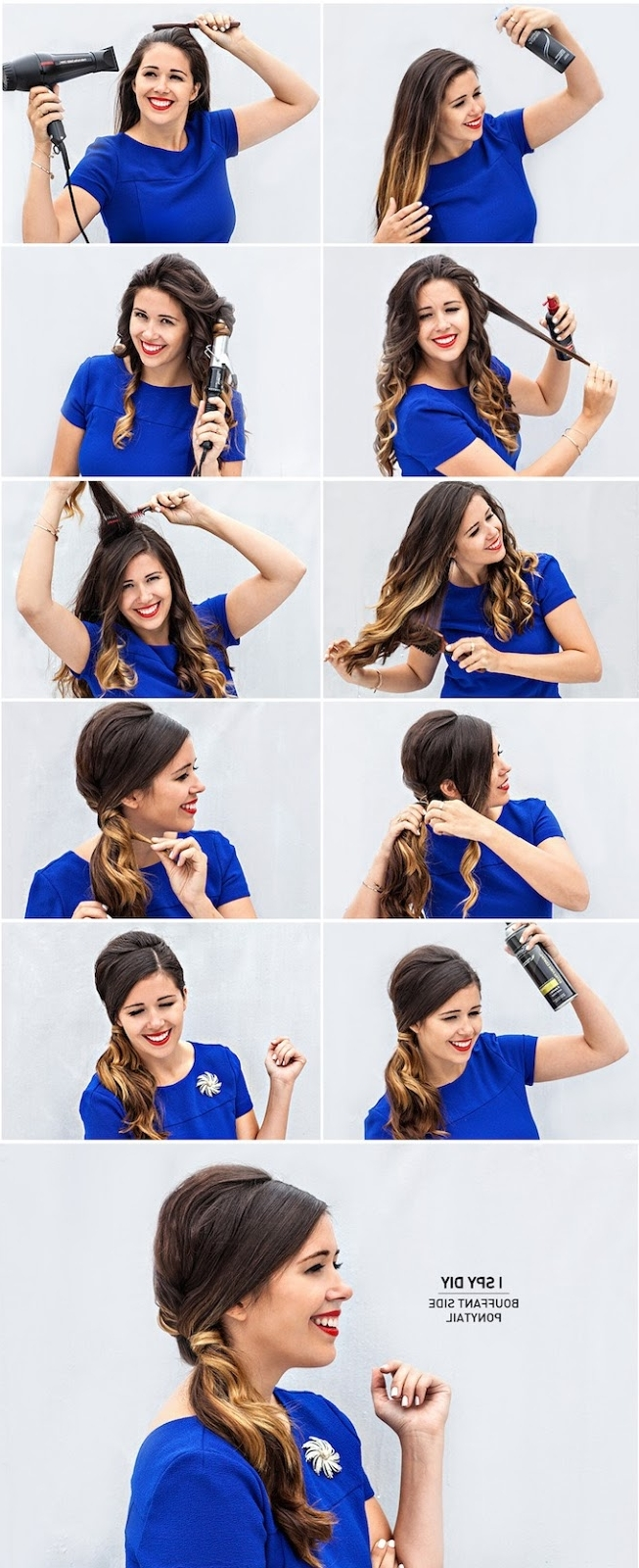 12 Super Easy Ponytail Hairstyles – Fashionsy With Regard To Current Bouffant Ponytail Hairstyles (View 1 of 20)