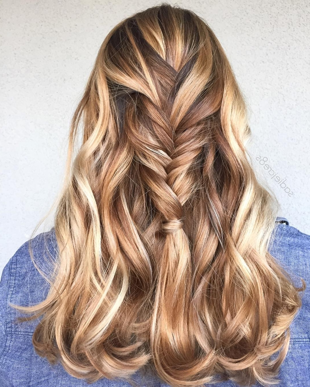 13 Beautiful Brown Hair With Blonde Highlights And Lowlights For Most Current Light Copper Hairstyles With Blonde Babylights (View 1 of 20)