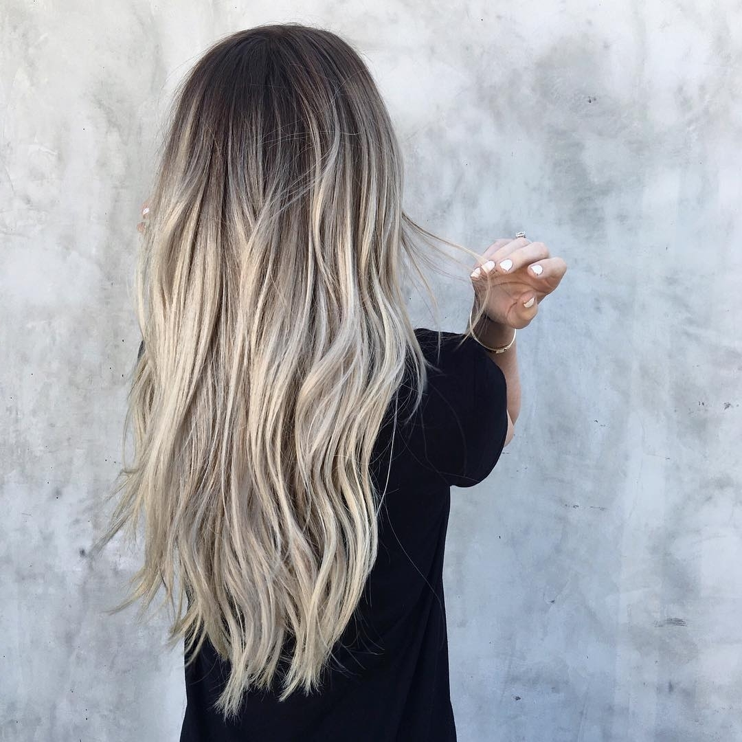15 Amazing Ash Blonde Colored Hairstyle Ideas  (View 2 of 20)