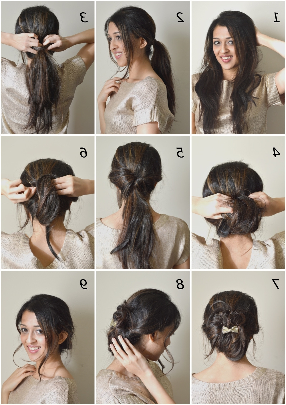 15 Amazing Ways To Upgrade Your Messy Bun This Summer – Bun & Braids Inside Current Simple Side Messy Ponytail Hairstyles (View 1 of 20)