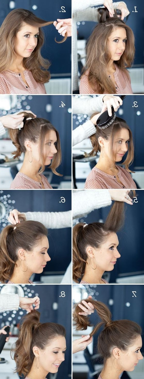 18 High Ponytail Hairstyles You Need To Try For Spring 2017 – Gurl Within Most Current Easy High Pony Hairstyles For Curly Hair (View 1 of 20)