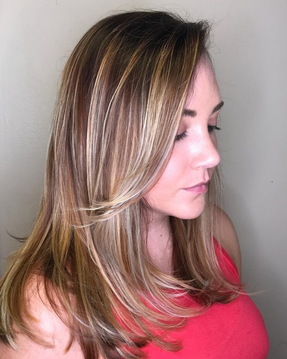 19 Cutest Side Bangs Hairstyle Ideas For 2018 Inside Well Known Side Swept Warm Blonde Hairstyles (View 2 of 20)