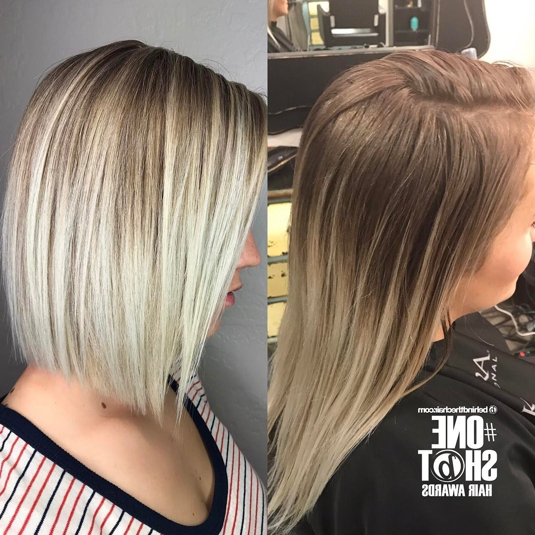 20 Adorable Ash Blonde Hairstyles To Try: Hair Color Ideas 2018 With Regard To Most Up To Date White Blunt Blonde Bob Hairstyles (View 1 of 20)