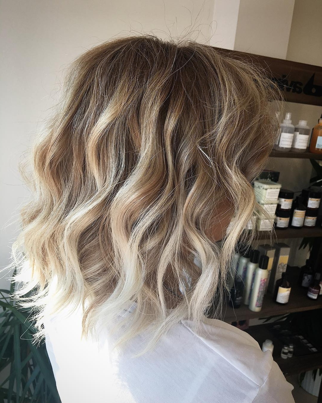 20 Beautiful Blonde Balayage Hair Color Ideas – Trendy Hair Color 2017 With Regard To Famous Icy Highlights And Loose Curls Blonde Hairstyles (View 15 of 20)