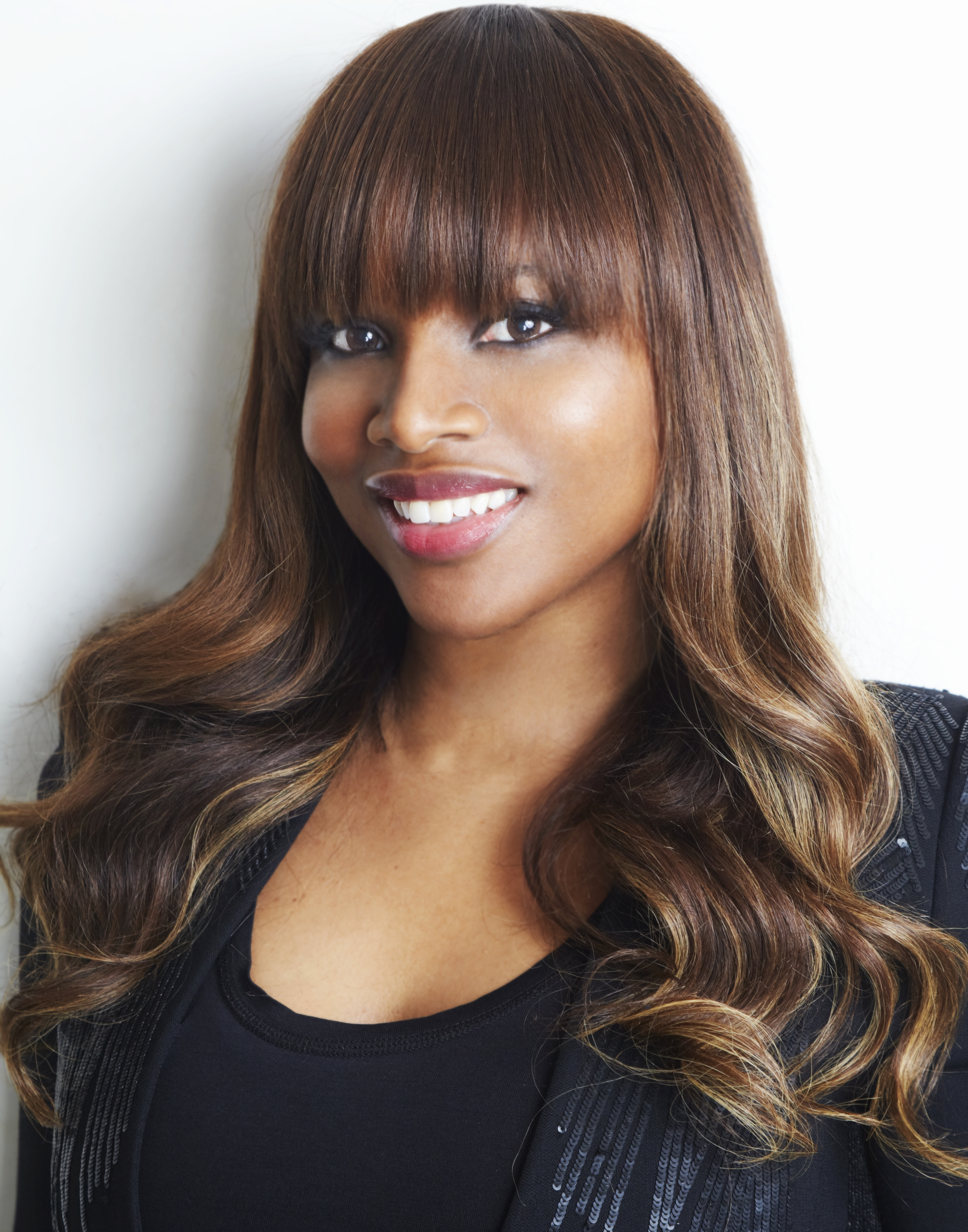20 Great Ponytails With Bangs Inspiration Ideas – Amoy Pitters Intended For 2017 Minaj Pony Hairstyles With Arched Bangs (View 1 of 20)