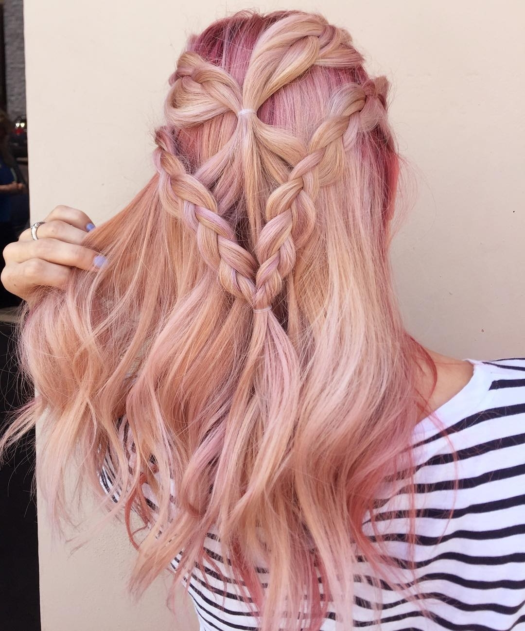 20 Long Hairstyles You Will Want To Rock Immediately! For Most Up To Date Ash Blonde Half Up Hairstyles (View 4 of 20)